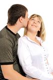 Couples dans l'amour-- Photographie stock libre de droits
