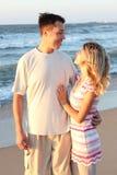 Couples dans l'amour Images libres de droits