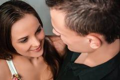 Couples dans l'amour Photo libre de droits