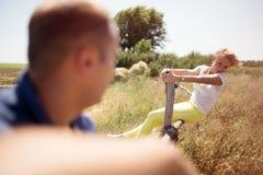 Couples dans l'amour, Photographie stock libre de droits