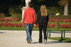Couples dans l'amour photo stock