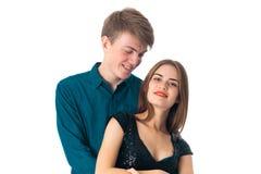 Couples dans l'amour ayant l'amusement Photo libre de droits