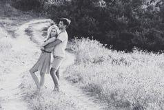 Couples dans l'amour ensemble dans l'heure d'été Rebecca 36 Photos libres de droits