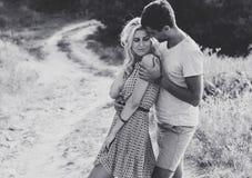 Couples dans l'amour ensemble dans l'heure d'été Rebecca 36 Photos stock