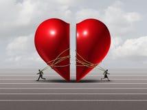 Couples dans la crise illustration libre de droits