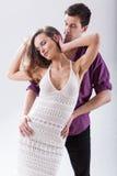 Couples dans la danse Photographie stock