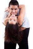 Couples dans la danse d'amour, Images stock