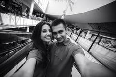 Couples dans la ville Images stock