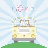 Couples dans love3 Photos libres de droits