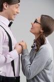 Couples de ballot. images libres de droits
