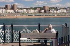 Couples de Brighton images stock