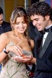 Couples de casino Image libre de droits