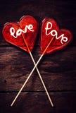 Couples de coeur Images stock