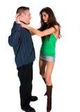 Couples de combat images stock