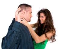 Couples de combat Photos libres de droits