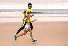 Couples de coureur Image stock