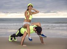 Couples de coureur Photographie stock libre de droits