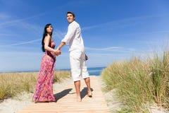 Couples de course Photographie stock