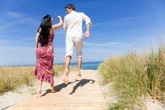 Couples de course Images stock