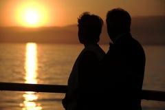 Couples de croisière Images stock