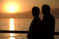 Couples de croisière Photographie stock libre de droits