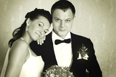 Couples de cru Images libres de droits