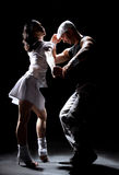 Couples de danse Photographie stock