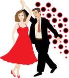 Couples de danse Photographie stock libre de droits