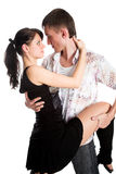 Couples de danse images stock