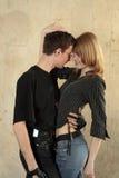 Couples de danse Images stock