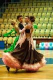 Couples de danse Photo libre de droits