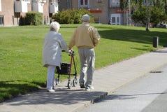 Couples de DENMARK_senior Images libres de droits