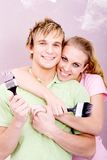 Couples de DIY Photos libres de droits