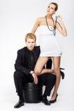 Couples de fantaisie Image libre de droits