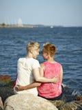 Couples de femmes Images stock