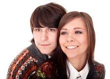 Couples de fille et d'homme. Amour. Images stock