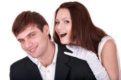 Couples de fille et d'homme. Amour. Photographie stock libre de droits
