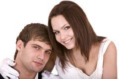 Couples de fille et d'homme. Amour et passion. Images stock