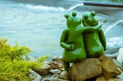 Couples de grenouille Photographie stock