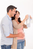 Couples de grossesse Image libre de droits