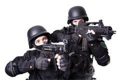Couples de guerre Images libres de droits