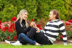 Couples de Happu Images stock