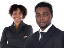 Couples de jeunes cadres photos stock