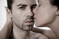 Couples de jeunes de plan rapproché Photo libre de droits