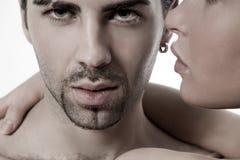 Couples de jeunes de plan rapproché Image stock