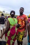Couples de jeunes de Sekondi photos stock