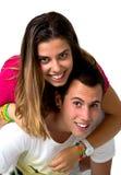 Couples de l'adolescence Photo libre de droits