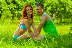 Couples de l'homme et de femme photo stock