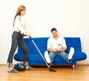 Couples de ménage Photos libres de droits