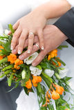Couples de mariage photographie stock